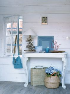 Just because you can't get away this summer doesn't mean you can't spend time in a beautiful summery home. Get ideas, tips and tricks for...