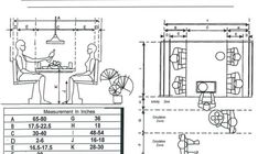 Measurements Breakfast Booth Floor Plans Booths Tables Bars