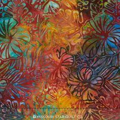 Artisan Batiks - Totally Tropical Tropical Yardage