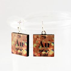 Periodic table jewelry personalized glass by shopgibberish on etsy hey i found this really awesome etsy listing at httpsetsylisting106901602gold science chemistry earrings periodic urtaz Images