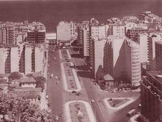 Avenida Princesa Isabel, década de 60