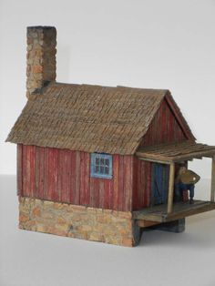 Small Miners Shack - Harriman Plans | Model Railroad Hobbyist magazine | Having fun with model trains | Instant access to model railway resources without barriers