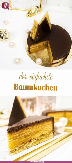 Baumkuchen is one of our favorites at Christmas. With this simple recipe you made it in no time. The Baumkuchen is actually not that difficult to make, it just takes a little patience. 5 Star Recipe, Tree Cakes, Healthy Cake, Pumpkin Dessert, Coffee Dessert, Baked Pumpkin, Easy Cake Recipes, Food Cakes, Pain