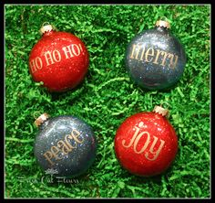 Different types of Easy DIY Ornaments -