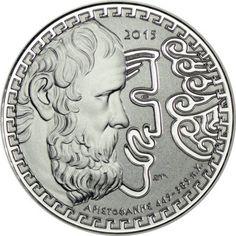 10 Euro Silber Aristophanes PP