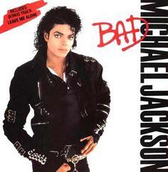 Michael Jackson's Bad Album Cover