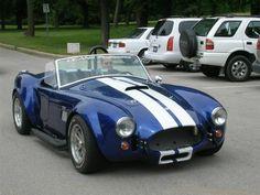 ac cobra <3 dad's dream car :)