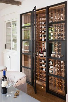 2016 Artisan Home Tour - Wine Cellar - by Builders Association of the Twin Cities #winecellars