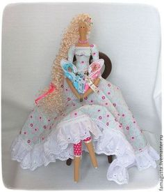 Куклы Тильды ручной работы. Ярмарка Мастеров - ручная работа Фея Материнства. Handmade.