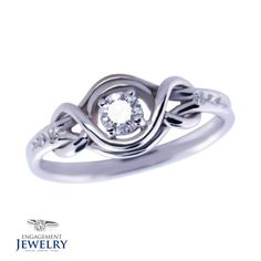 Inel cu Diamant 1 X Diamant 6 x Diamante Gems, Engagement Rings, Jewelry, Enagement Rings, Wedding Rings, Jewlery, Jewerly, Rhinestones, Schmuck