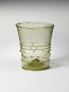 Date: 12th–15th century Culture: European Medium: Glass Dimensions: Overall: 4 1/2 x 3 3/4 in. (11.4 x 9.5 cm) Classification: Glass-Vessels...