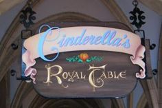 I loved breakfast at the castle! It was the first morning I was there and I met the princesses!