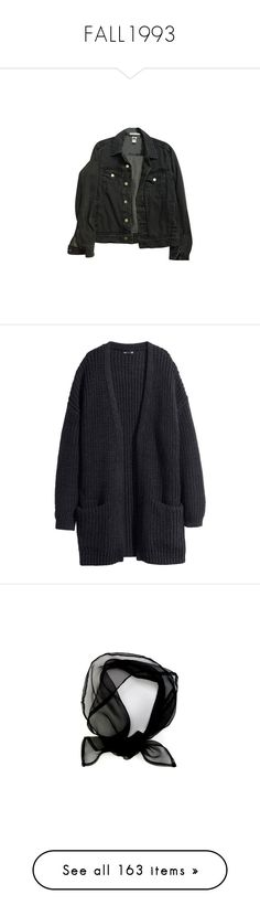 """""""FALL1993"""" by nguyen-huynh-khanh-thy ❤ liked on Polyvore featuring outerwear, jackets, tops, coats & jackets, jean jacket, american apparel jacket, unisex jackets, american apparel, denim jacket and cardigans"""