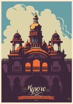 Travel Postcards  Posters by ranganath krishnamani
