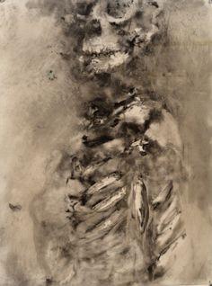 Anatomy Drawing Medical exploring the human skeleton focusing on the rib cage - Skeleton Drawings, Human Skeleton, Skeleton Art, Anatomy Drawing, Anatomy Art, A Level Art Sketchbook, Human Spine, Human Body Art, Dark Artwork