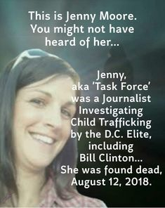 Was Journalist Jen Moore Killed After Contacting Authorities About Bill Clinton? Conservative Politics, Thought Provoking, Food For Thought, Things To Think About, Fun Facts, Knowledge, Wisdom, Tumblr, This Or That Questions