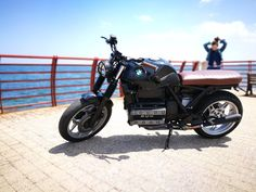 BMW k100 LT 1990 - By Jeje #caferacer #bmw #sea #sun #passion #motobike