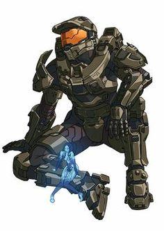 Halo 5, Halo Game, Master Chief And Cortana, Halo Master Chief, Halo Reach, Odst Halo, Cortana Halo, John 117, Halo Spartan