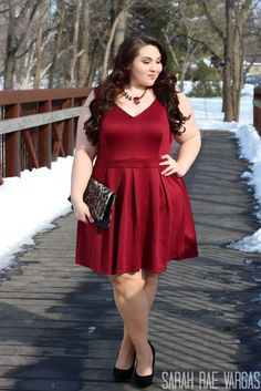 Valentine's Day in Fashion To Figure | Plus Size Fashion | - Sarah ...