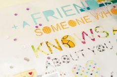Free 'friend quote' cut file, by Margrethe #Silhouette #CutFile