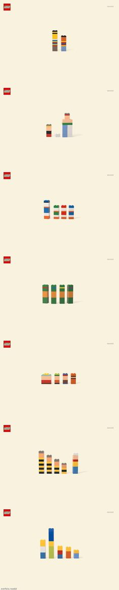 Our Favorite Cartoon Characters In Adorable, Minimalist Lego