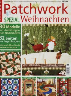Patchwork Spezial Weihnachten 2006-06 - Пэчворк и квилт - Журналы по рукоделию…