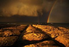 Storm and Rainbow by Nick Moir