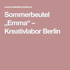 """Sommerbeutel """"Emma"""" – Kreativlabor Berlin"""