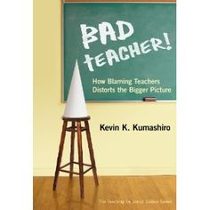 """ASCD presenter, Kevin Kumashiro's book """"How Blaming Teachers Distorts the Bigger Picture"""" was getting all sorts of buzz during the conference."""