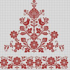 This Pin was discovered by KLi Cross Stitch Bird, Cross Stitch Borders, Cross Stitch Samplers, Cross Stitch Charts, Cross Stitch Designs, Cross Stitching, Cross Stitch Patterns, Embroidery Sampler, Folk Embroidery