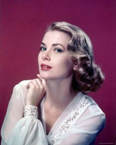 """No one truly embodies the name """"Grace"""" like Grace Kelly. Her class & grace is timeless!"""