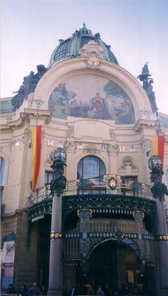 Maison Municipale, Prague (Obecni düm, Praha)