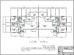 Family Housing Floor Plan Type 1 (10 units)