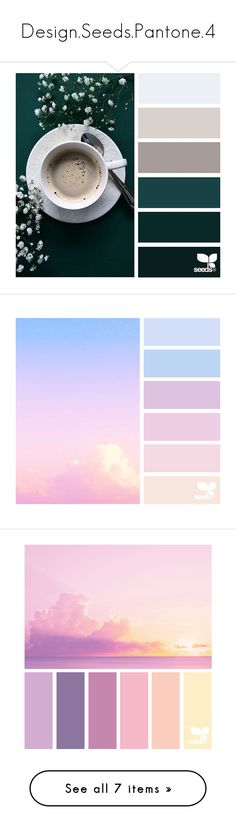 """Design.Seeds.Pantone.4"" by falconry ❤ liked on Polyvore featuring backgrounds, design seeds, pictures, colors, fillers, embellishments, text, effects, texture and quotes"