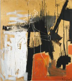 Albert Oehlen B.1954 UNTITLED signed and dated 86 oil on canvas