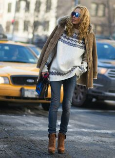 New York Fashionweek Streetstyle - Girlscene