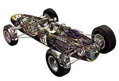 1965 BRM P261 Formula One Car