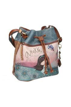 Anekke / Different. Santorini, Bucket Bag, Bags, Fashion, Handbags, Moda, Fashion Styles, Fashion Illustrations, Santorini Caldera