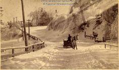 Elm Street, Topsham, Maine April 1887