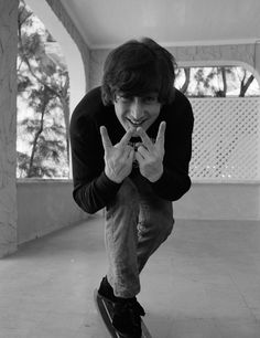 "John Lennon • ALL WE are say' ing ... is ""GIVE PEACE a CHANCE!"""