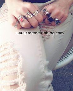 Crea il tuo stile preferito  Con la nuova collezione anelli  www.memelabblog.com