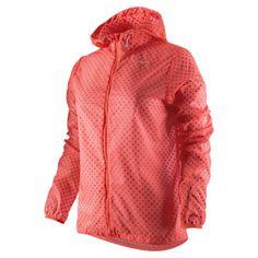 nike cyclone vapor women's running jacket $115