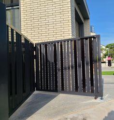 포항 - 개인주택 대문 : 네이버 블로그 Door Gate Design, Deck, Doors, Steel, Outdoor Decor, Home Decor, Puertas, Front Porch, Decks