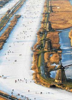 #windmills #Holland #travel