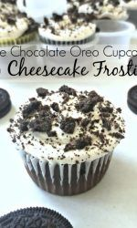 Triple Chocolate Oreo Cupcakes with Cheesecake Frosting - Madison's baby shower - Chocolate Pudding Cookies, Oreo Pudding, Chocolate Oreo, Chocolate Cake Recipe Easy, Chocolate Cupcakes, Cheesecake Frosting, Frosting Recipes, Cupcake Recipes, Dessert Recipes