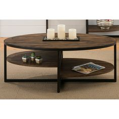 Have to have it. Jofran Sherwood Cocktail Table - Graphite - $328.9 @hayneedle
