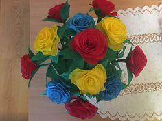 Rose, Flowers, Plants, Painting, Art, Craft Art, Floral, Paintings, Roses