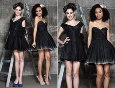 modelos de vestidos pretos para formatura
