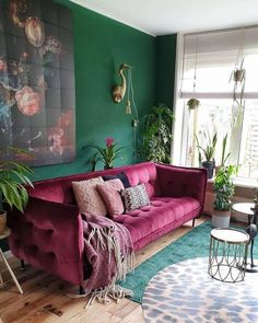 30 Best Sofas to Give Statement for Your Bohemian Home Style Bohemian interior design offers you some elements which is cultural, full of life, and aesthetically interesting. Bohemian designs also Bohemian Interior Design, Interior Design Living Room, Living Room Designs, Bohemian Decor, Dark Bohemian, Bohemian Homes, Interior Decorating Styles, Decorating Websites, Vintage Bohemian