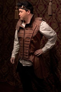 Airship Captains Vest (With Tails)